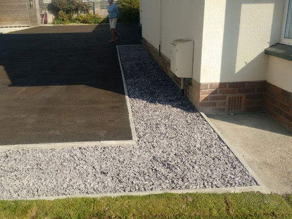 decorative driveway edging