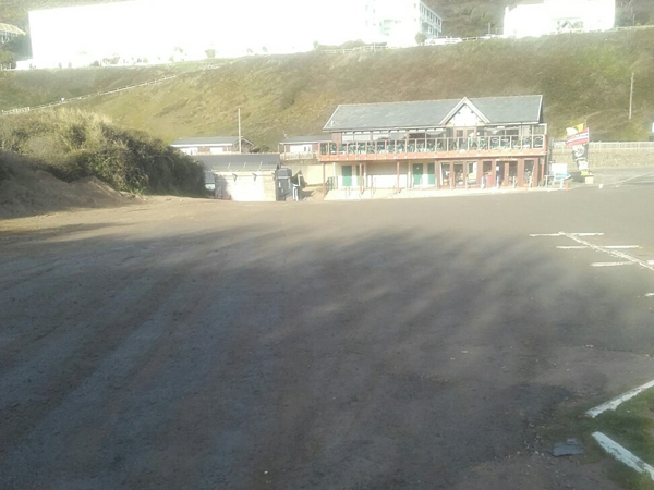 Fully Refurbished Car Park for Saunton Beach, North Devon