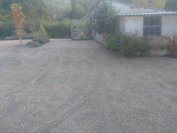 permeable surfacing