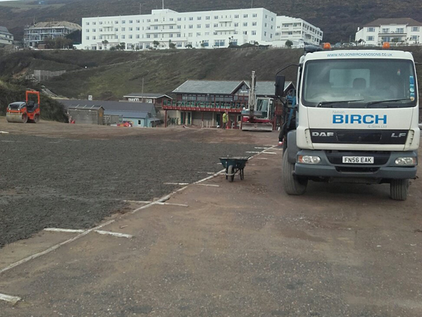 Prepping the Car Park for Refurbishment
